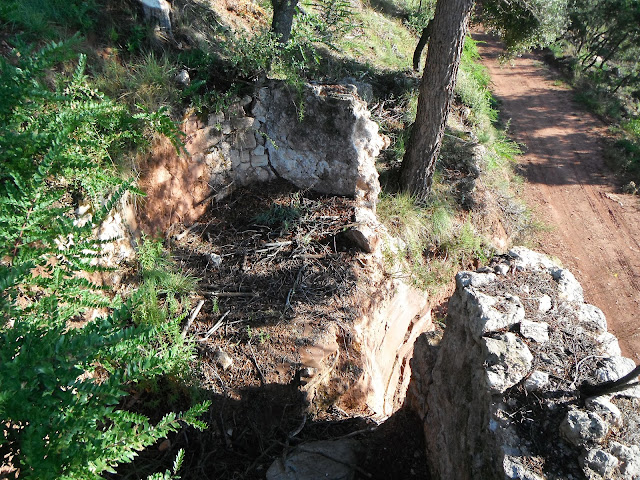 Bassa de la mina de can Serra de l'Arca