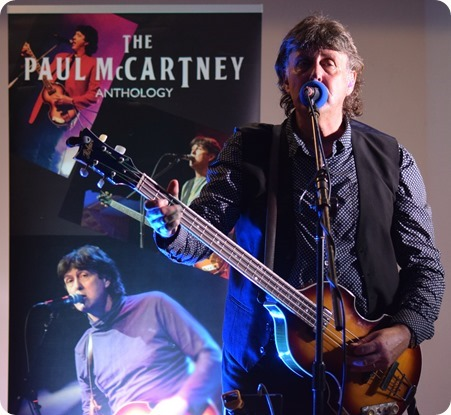Paul McCartney tribute act Neil Tudor - Wistaston (1)