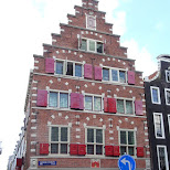dutch house in Amsterdam, Noord Holland, Netherlands