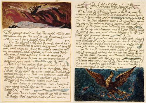 Marriage Of Heaven And Hell By Willam Blake, William Blake