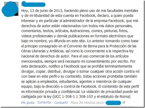 la falsa proteccion de facebook