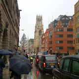 Blackfriars in rain