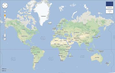 Google Maps neuer Look im Oktober 2012