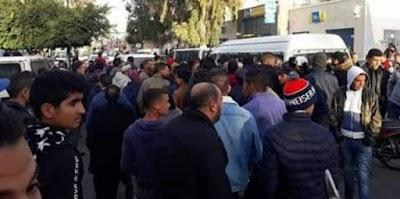 القصرين مرة أخرى: يفتكّ سلاح عون أمن ويحاول اطلاق النار على دورية قارّة !!