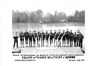 1986-La saison de l'équipe de France d'aviron