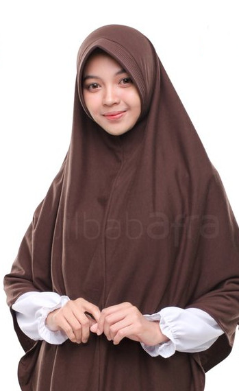 Hijab Instan Panjang Kaos