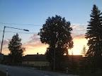 Večerní pravíkovské nebe.