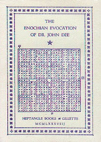 Cover of Geoffrey James's Book Excerpts from The Enochian Evocation Of Dr John Dee