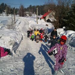 Zimní tábor 2012 - Úterý