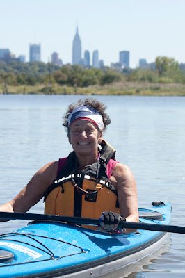 Hackensack Meadowlands with Kate and her new kayak. Photos by TOM HART. All rights reserved.
