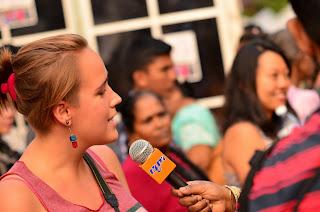 Ada gwiazdą telewizji tamilskiej.