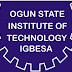 Ogun State Institute of Technology (OGITECH) HND Admission Form for 2020/2021 Academic Session