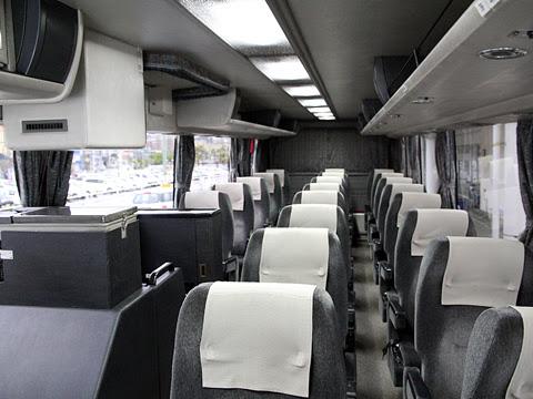 鹿児島交通観光バス「桜島号」 ・431 車内