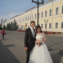 Kazan Kremlin is a popular with young couples and many photo-shoots take place on Fridays, when celebrations begin