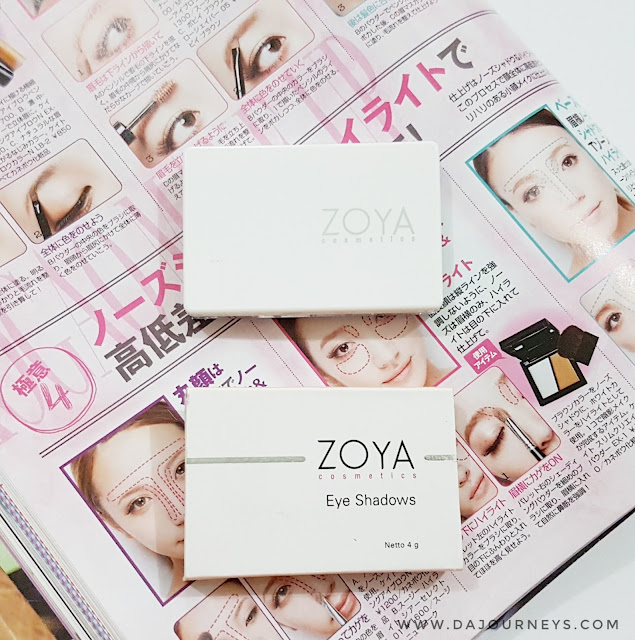 [Review] ZOYA Cosmetics Triple Eyeshadow