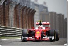 Kimi Raikkonen nelle prove libere del gran premio di Cina 2016