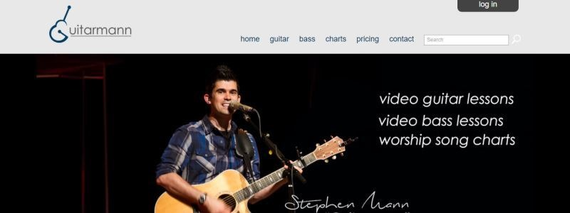 Guitarmann worship chords and lyrics