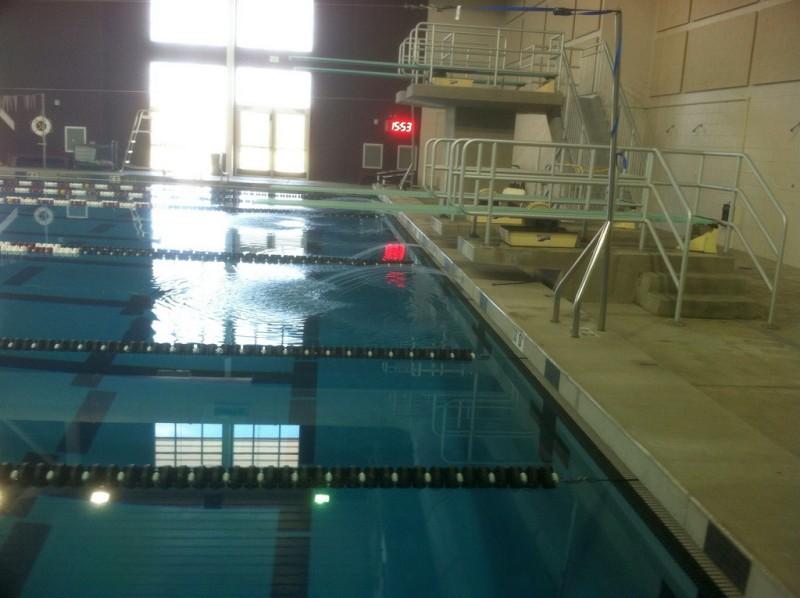 Pool Backwash Pit Backwash Pit in Use