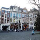 architecture in The Hague in Den Haag, Zuid Holland, Netherlands