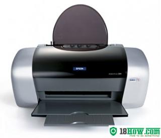 How to Reset Epson C84 laser printer – Reset flashing lights error