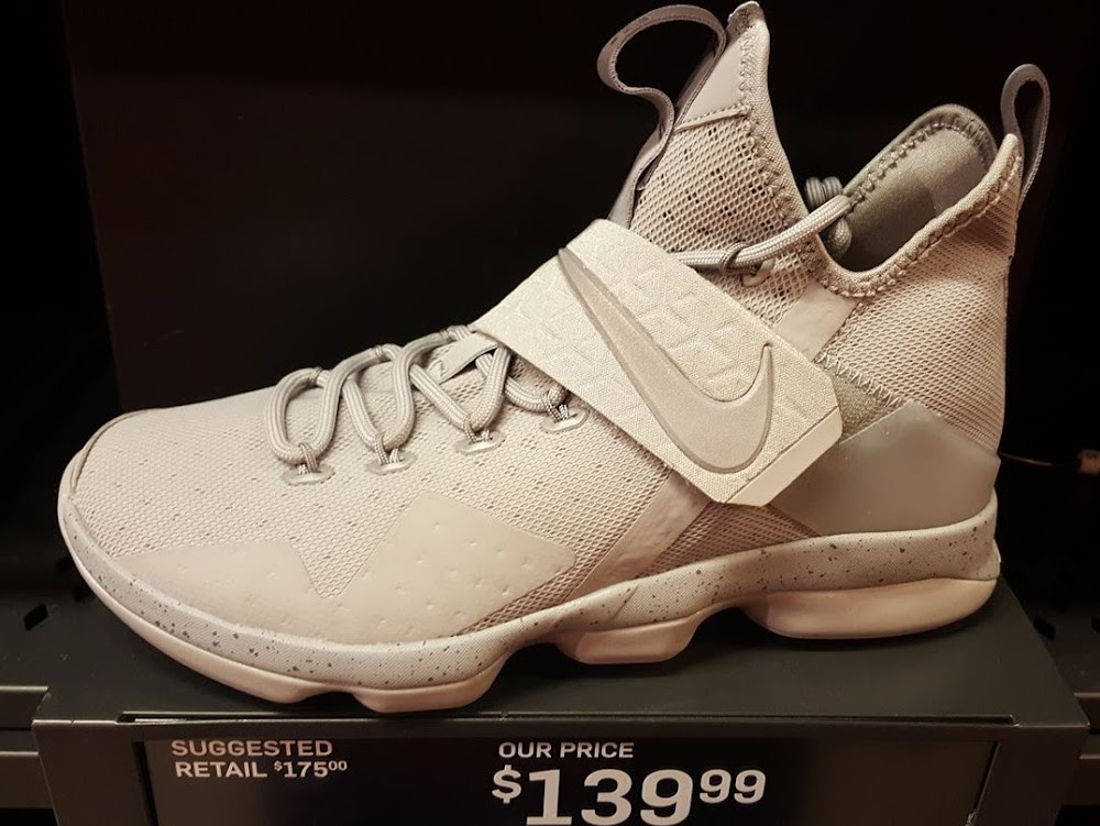 1f93b8160cd33 3M Covered Greyout Nike LeBron 14 Joins Outlet Exclusive ...