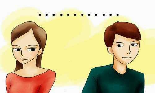 Silencios incomodos de pareja
