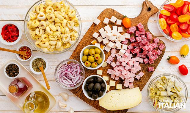 antipasto pasta salad ingredients