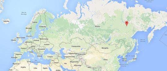 Mapa Yakutsk