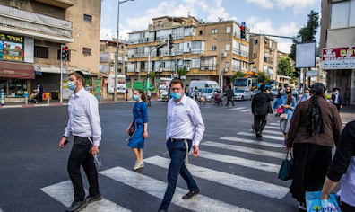 Bnei Brak não é está mais no 'vermelho'
