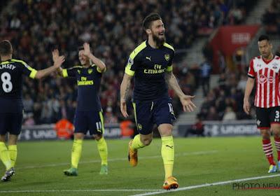 Arsenal se défait de Southampton et dépasse Man U
