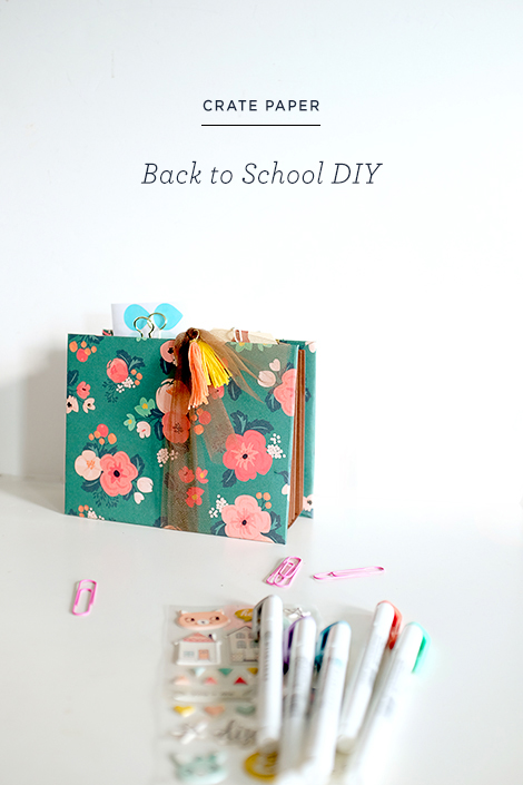Maria Lacuesta Design Team Back to School DIY