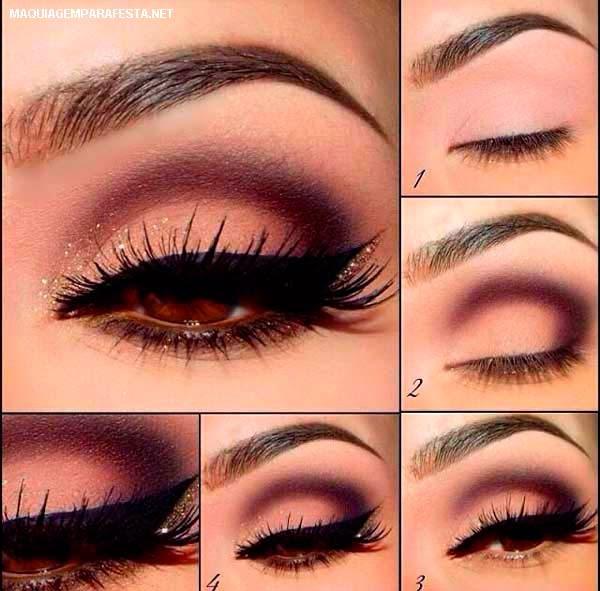 How To Use Bridal Makeup Step By Step : Maquiagem para Festa: Formatura, Noivas, Debutantes? Como ...