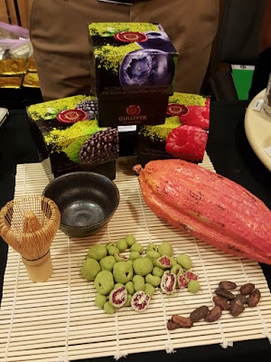 The Factory Chocolat is offering matcha flavoured luxury chocolate-covered fruit.