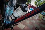 …both riding brand new Velotraum touring bikes from Switzerland...
