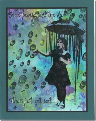AS WATER RAIN