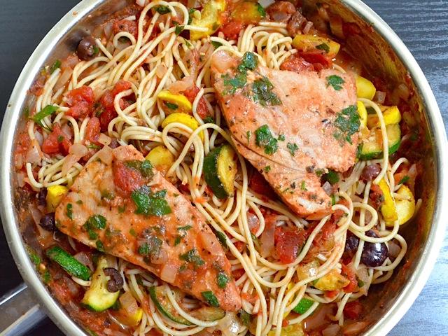 Steak spaghetti recipes Tuna and philadelphia pasta