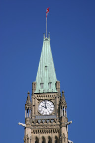 Top of the Peace Tower