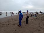 Libur Akhir Pekan, Sat Pol Air Polres Ciamis Gelar Patroli Di Pantai Pangandaran