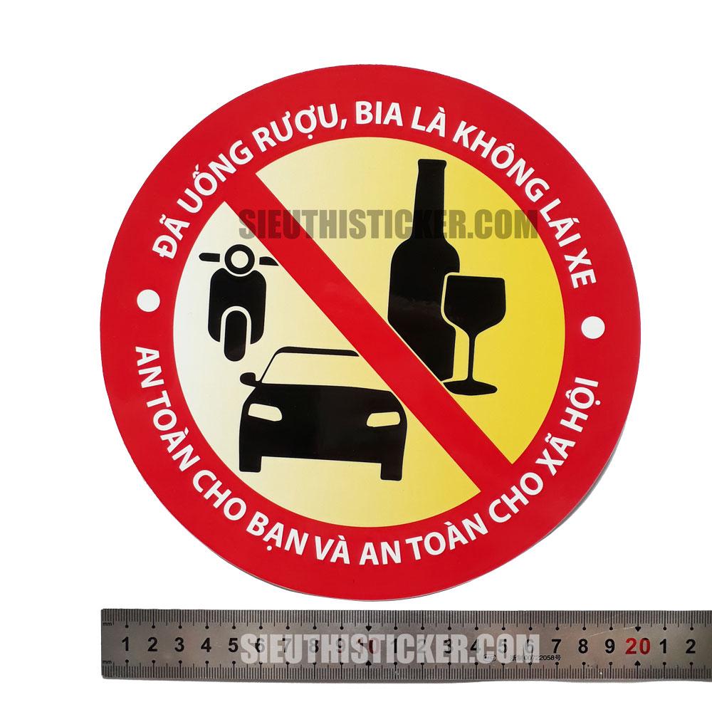 tem an toàn giao thông rượu bia