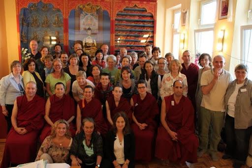 FPMT European Regional Meeting, May 2011, Panchen Losang Chogyen Gelugzentrum, Vienna, Austria