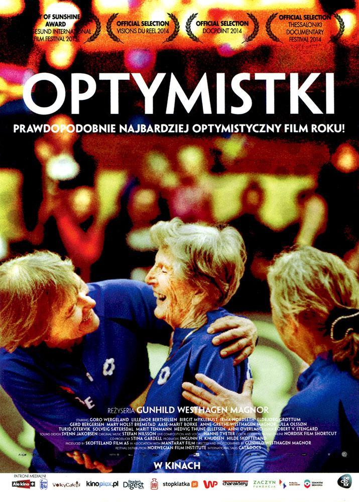 Ulotka filmu 'Optymistki (przód)'