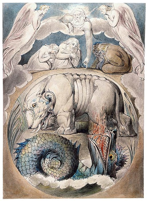 Behemoth And Leviathan By William Blake, William Blake