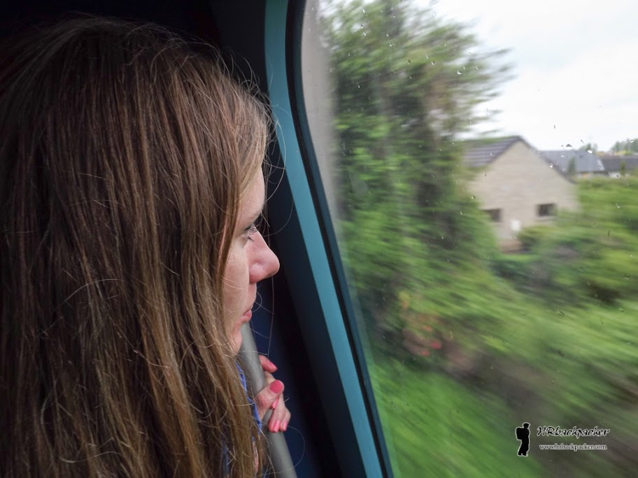 Uz dosadnu kišu krenuli smo vlakom prema jugu i napustili Kopenhagen.