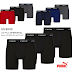 3 Pack PUMA Men's Boxer Briefs Only $9.99 (Reg $30) + Free Shipping & Free Shipping Back On Returns. Other items available: Men's Sandals $12.99, Polos $9.99, 6 Pack socks $9.99, Sneakers $29.99