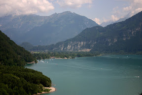 Interlaken on Lake Thun