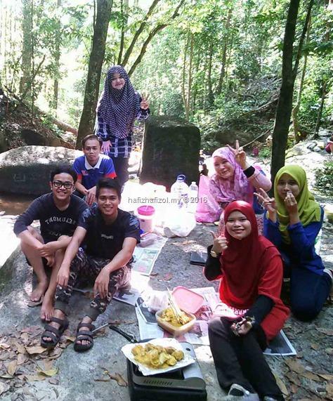 picnic sungai tekala