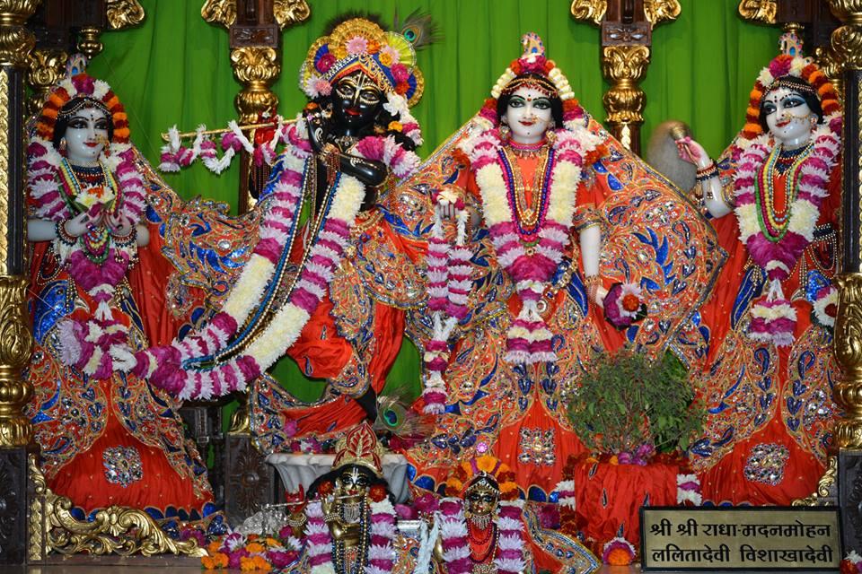 ISKCON Ujjain  Deity Darshan 22 Nov 2016 (1)