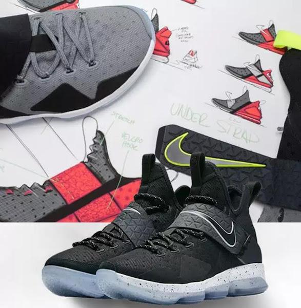 LeBron Anatomy Nike LeBron 14 Gets Cut Into Pieces