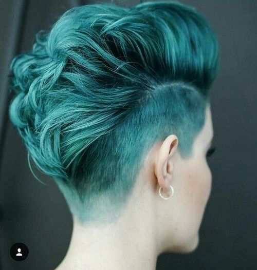 Hair:short hairstyles with different colors for 2018 6