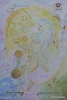 'Im Reich der Sonne', Acryl auf Leinwand,180x 130, Juni/ Juli 2011